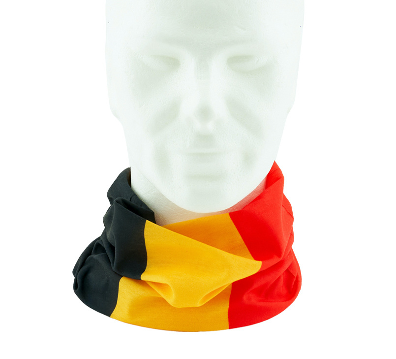 Multifuntionel scarf Belgian colors