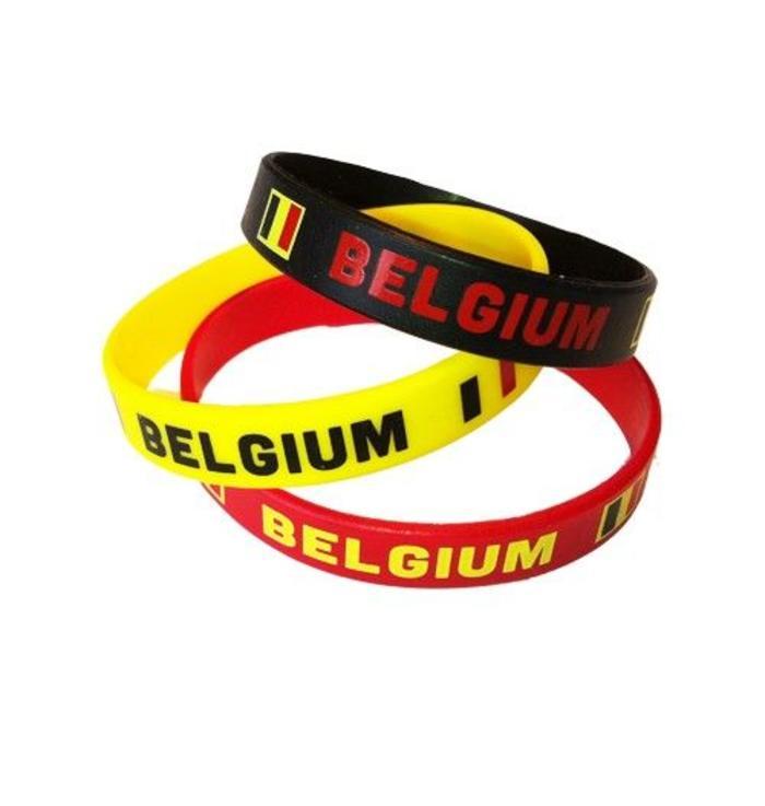 Bracelets belges (x3)