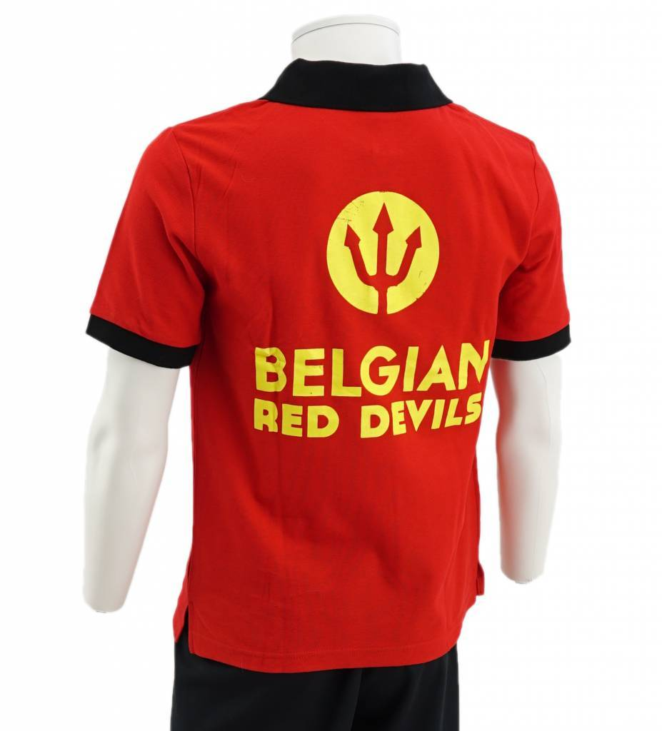 Polo Rouge Diables Rouges