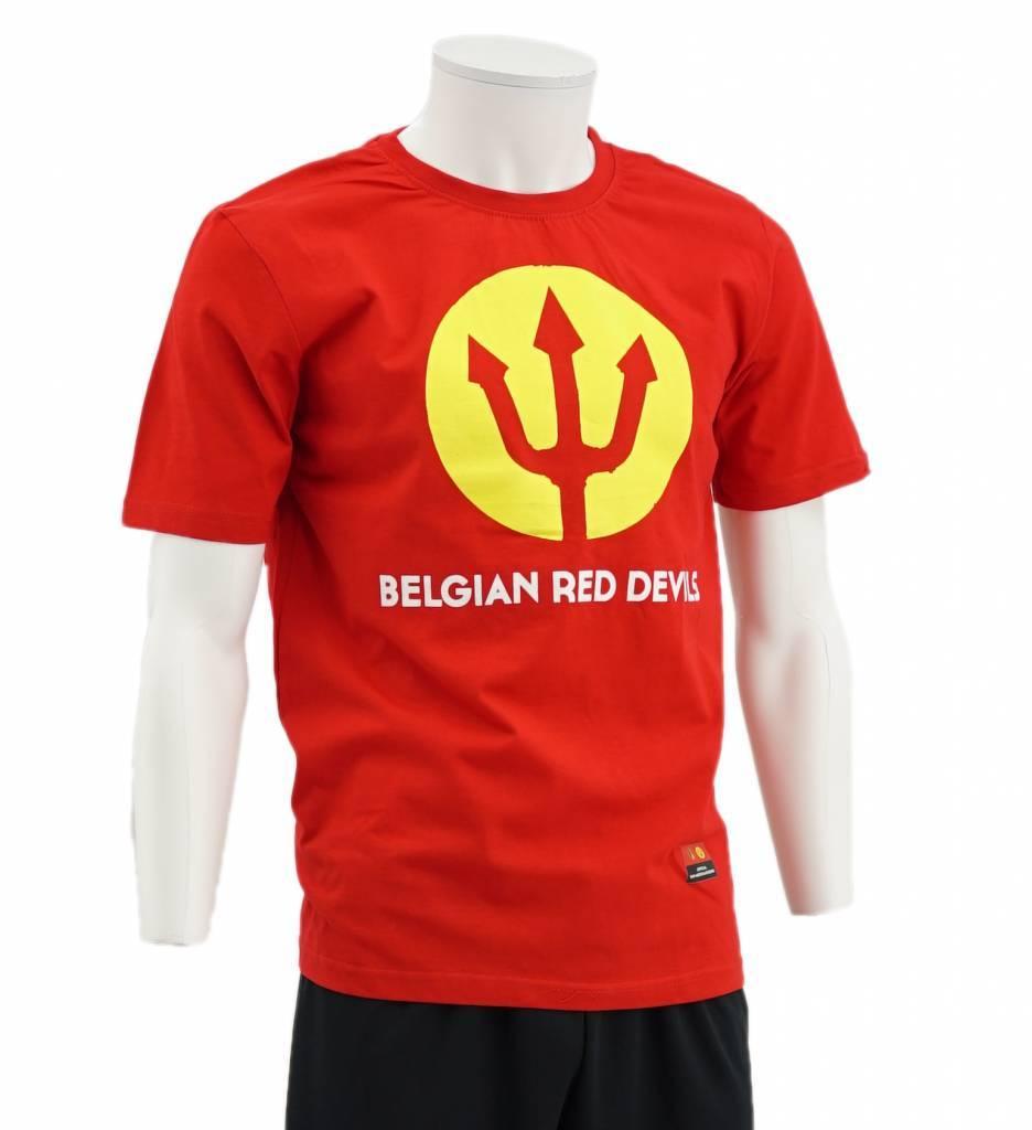 Rode Drietand T-shirt