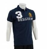 Blauwe Belgium Polo