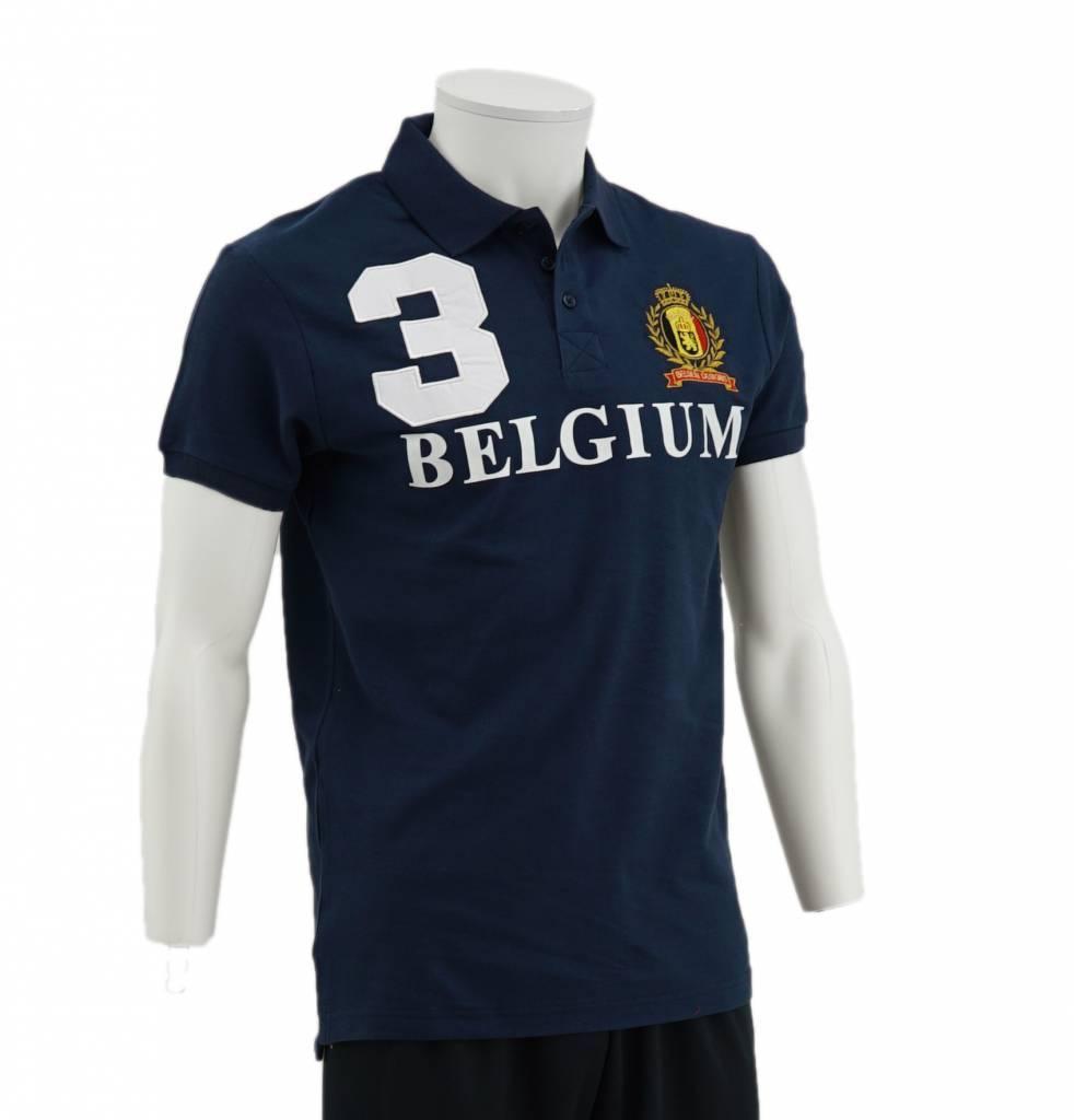 Blue Belgium Polo