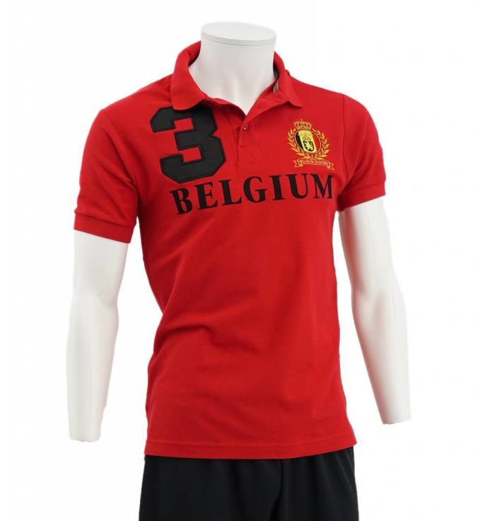 Red Belgium Polo