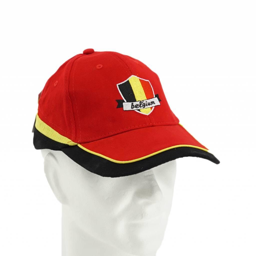 Casquette rouge Belgique