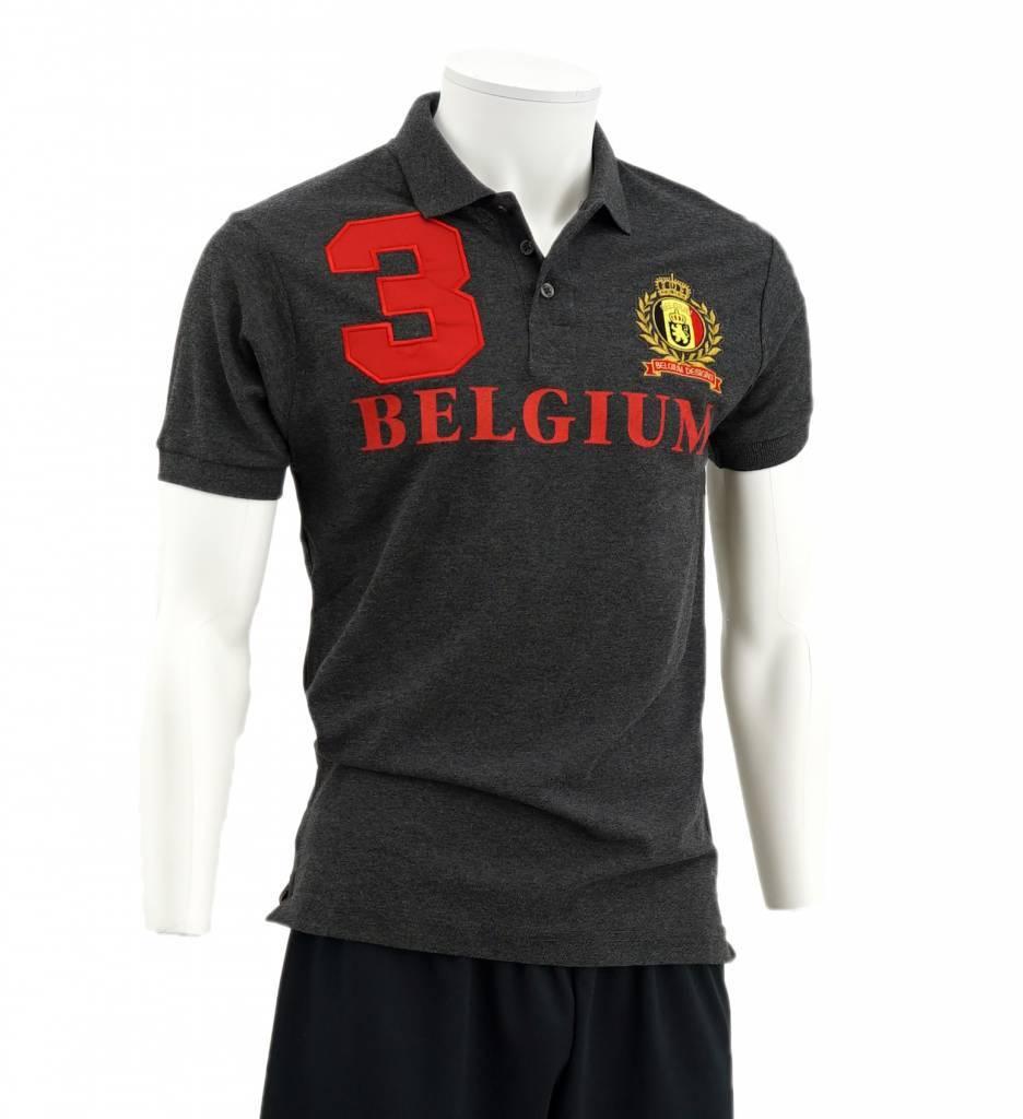 Grijze Belgium Polo
