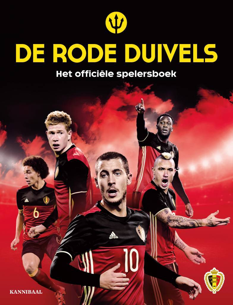 Officieel spelersboek Rode Duivels met alle portretten