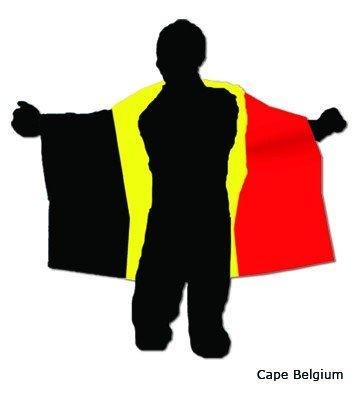 Cape flag Belgium