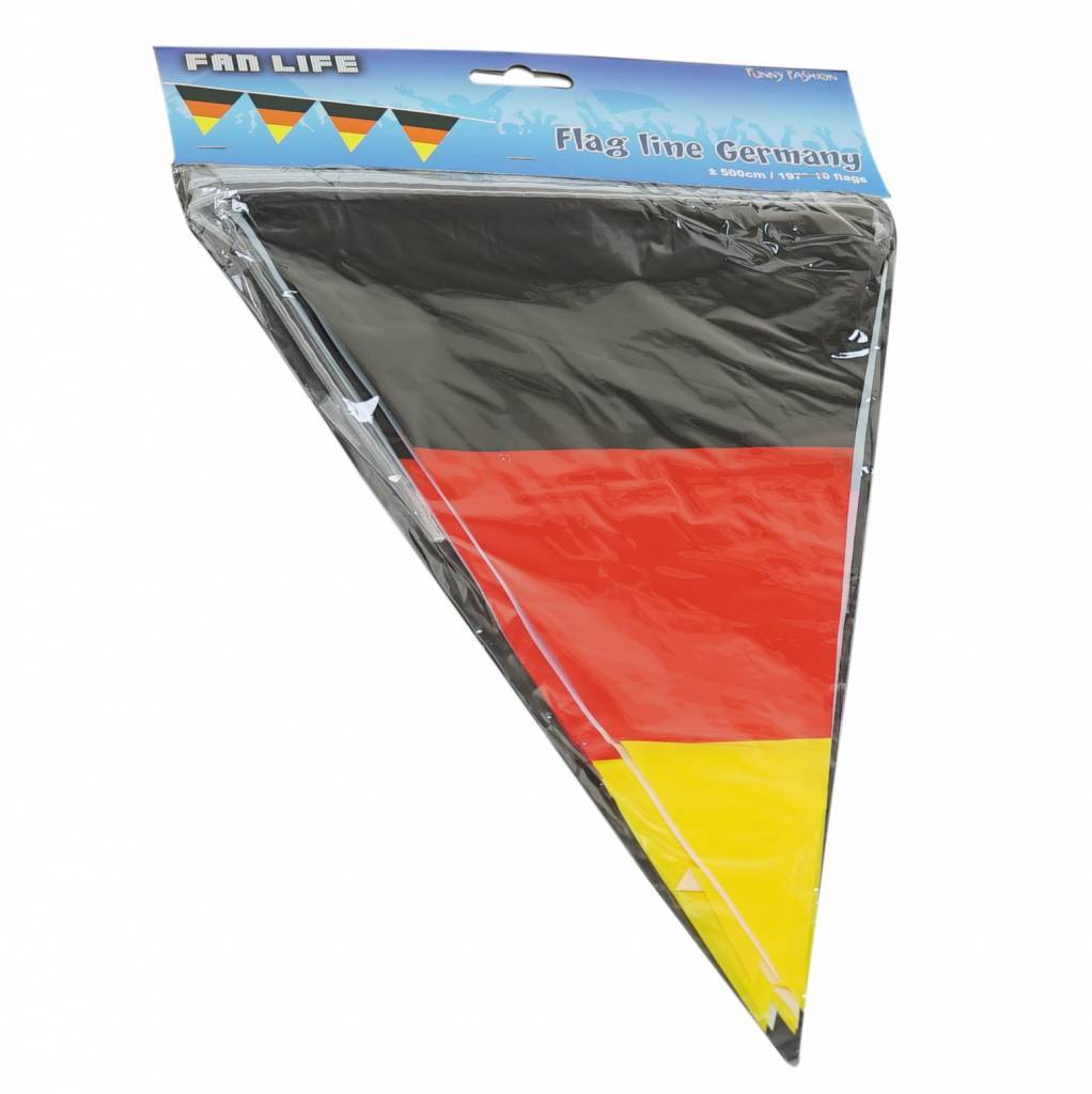 Flag garland Germany