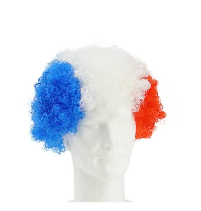 Wig blue-white-red