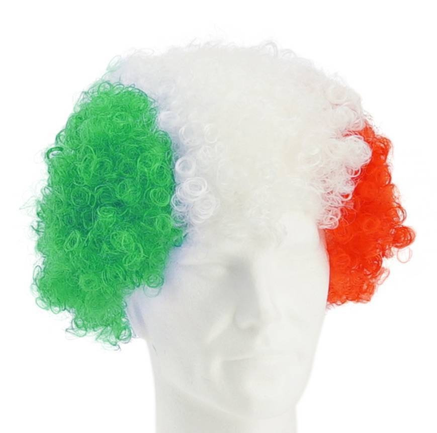 Wig green-white-red