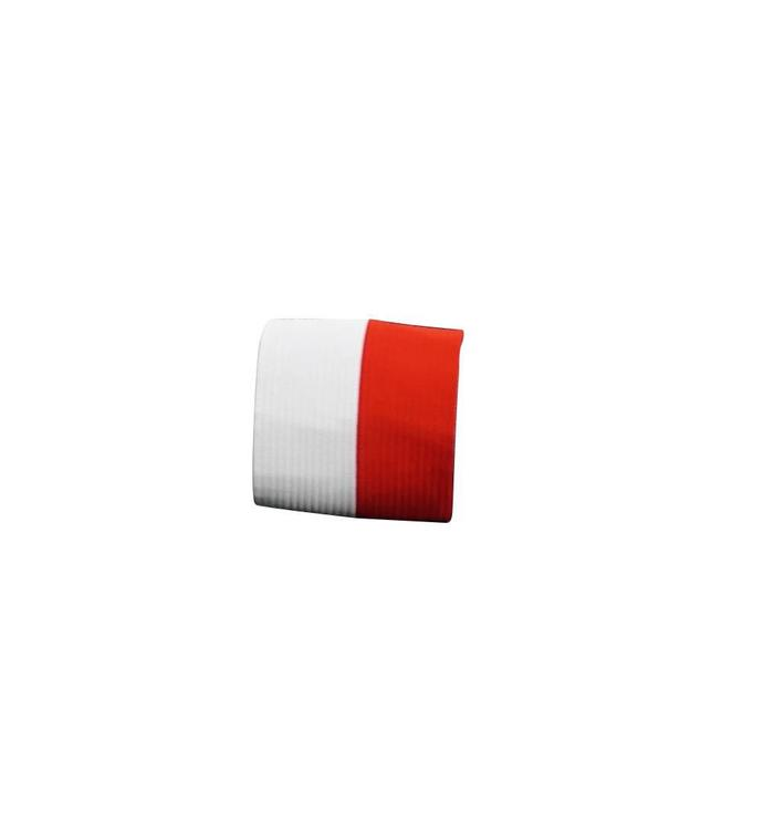 Bandeau anti-transpiration rouge-blanc
