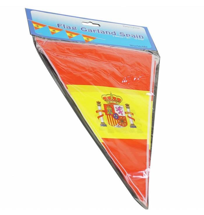 Guirlande de drapeaux Espagne
