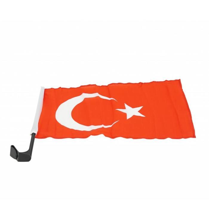 Drapeau de voiture Turquie