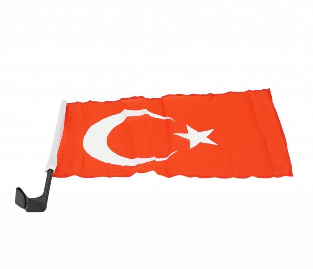 Car flag Turkey
