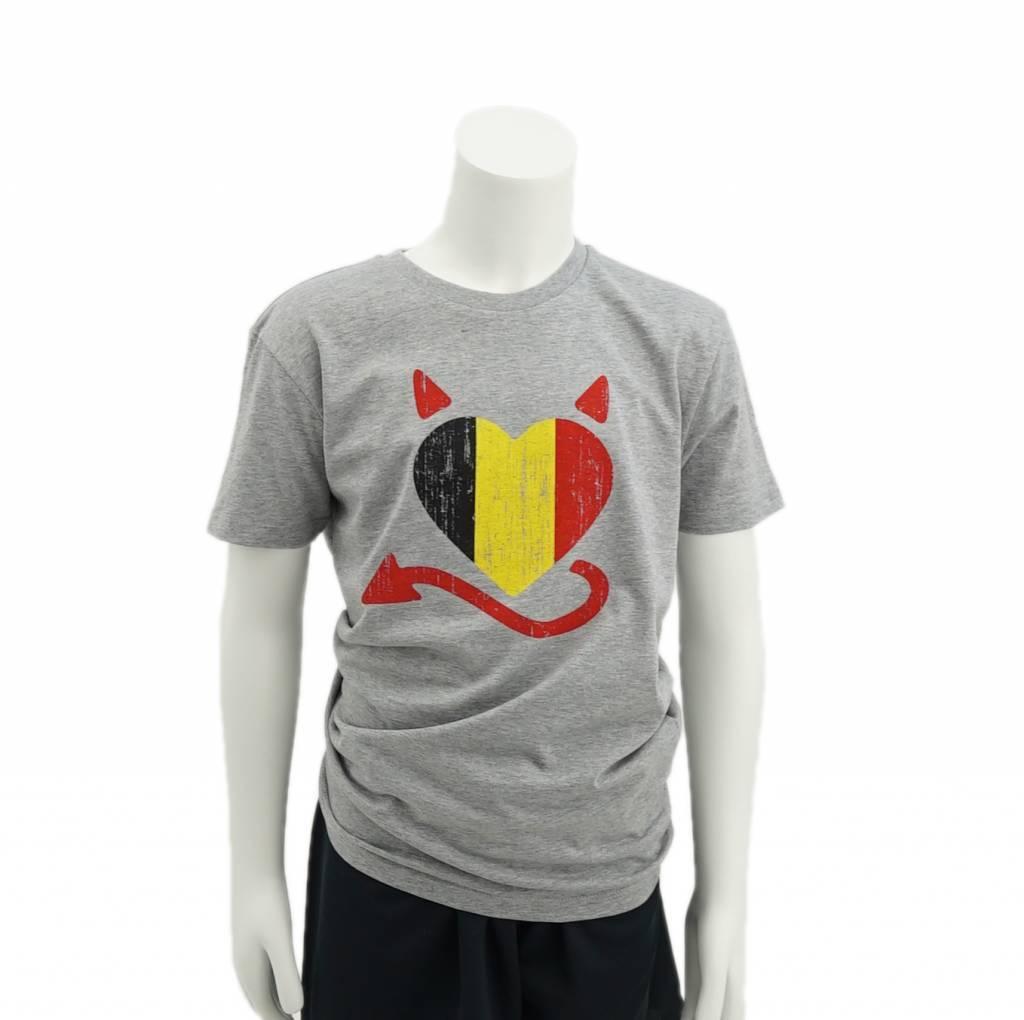 Belgisch hart T-shirt kids