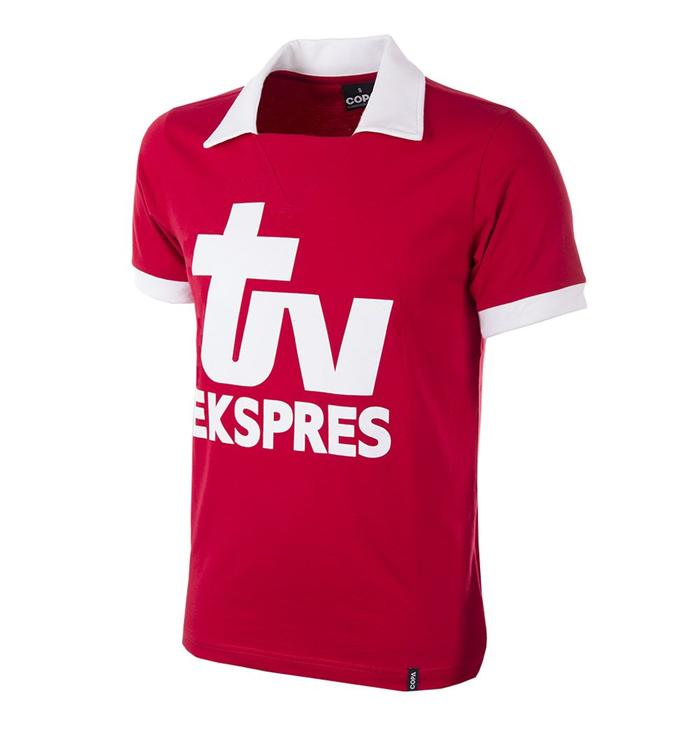 Maillot retro Royal Antwerp FC - TV Ekspres
