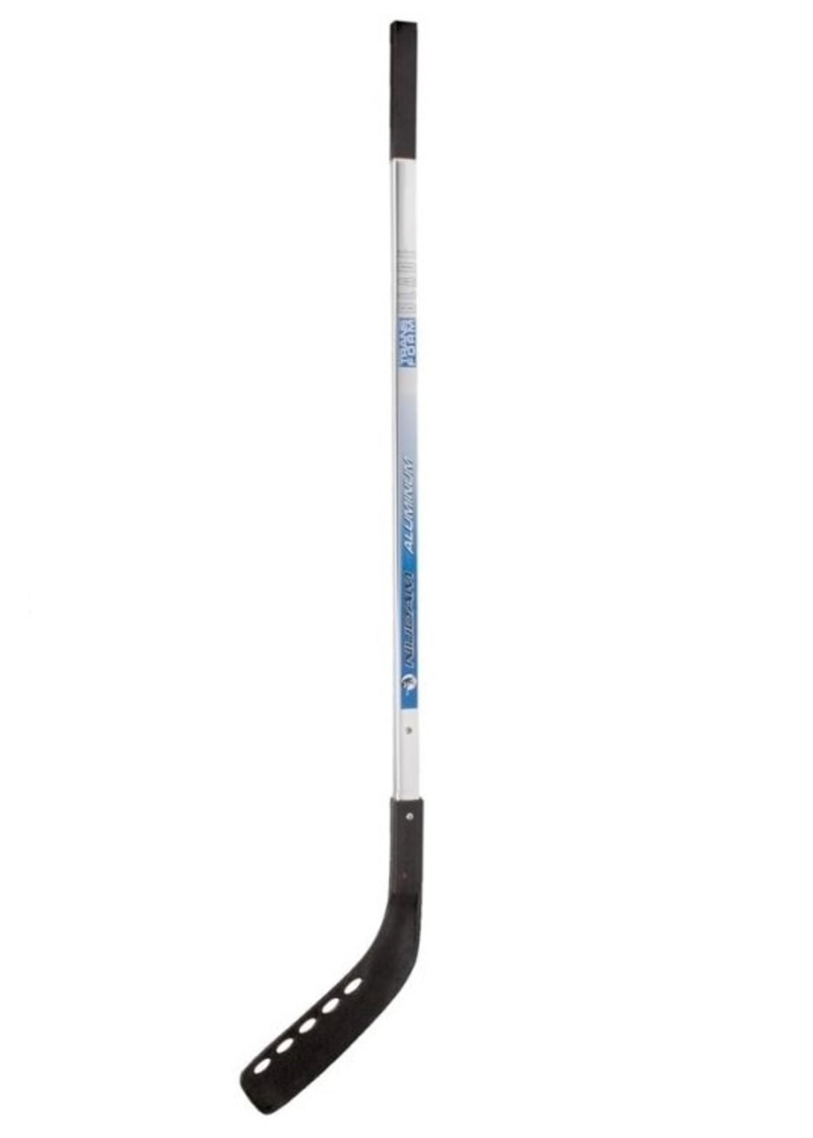 Nijdam Nijdam Hockeystick Aluminium 135 cm 0181 Zilver, blauw en oranje