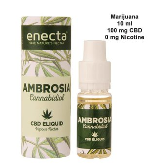 Enecta Ambrosia CBD E-Liquid 100mg met Marijuanasmaak