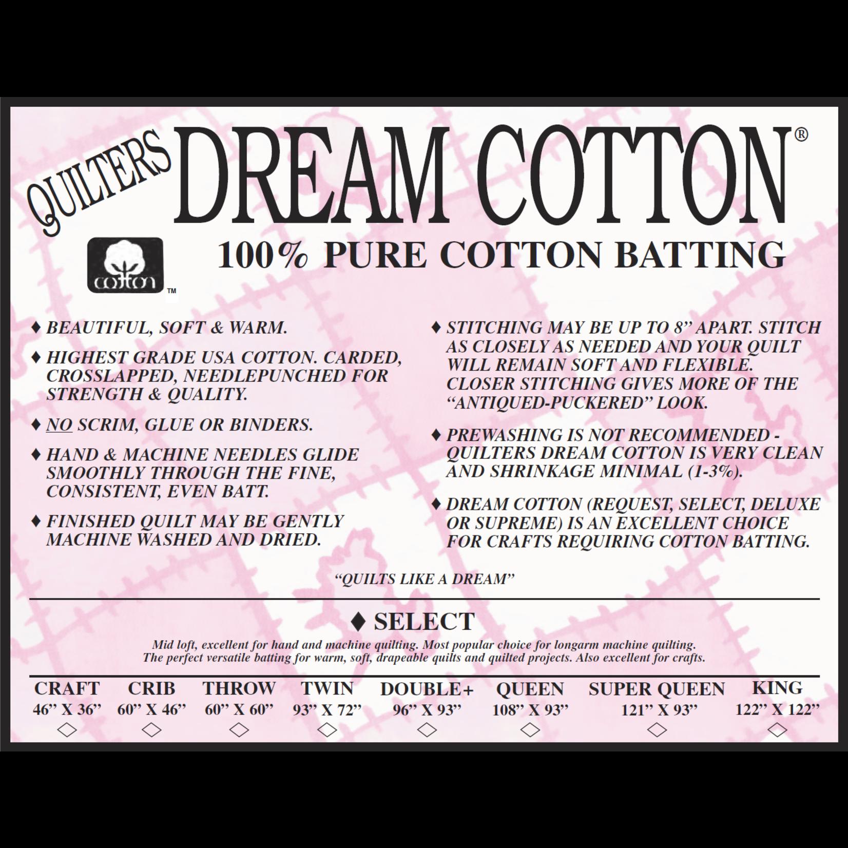 Quilters Dream Katoen - Cotton Select - 310 cm x 310 cm King