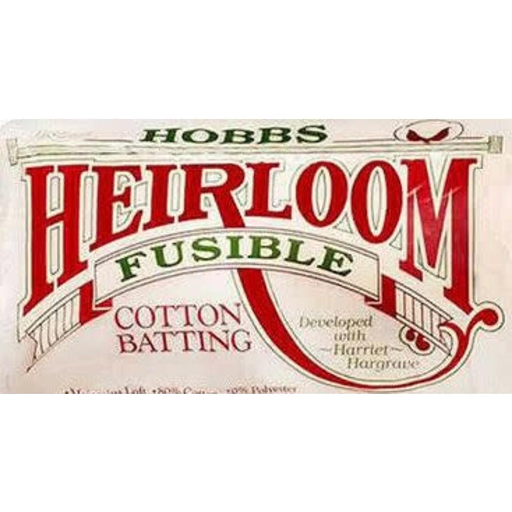 Hobbs Katoen/Polyester - Heirloom 80/20 Fusible - Van de rol (per 10 cm) 240 cm breed