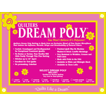 Quilters Dream Polyester - Poly Select - 310 cm x 310 cm King