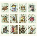 Elizabeth's Studio Beatiful Birds - Bird Housing - Panel