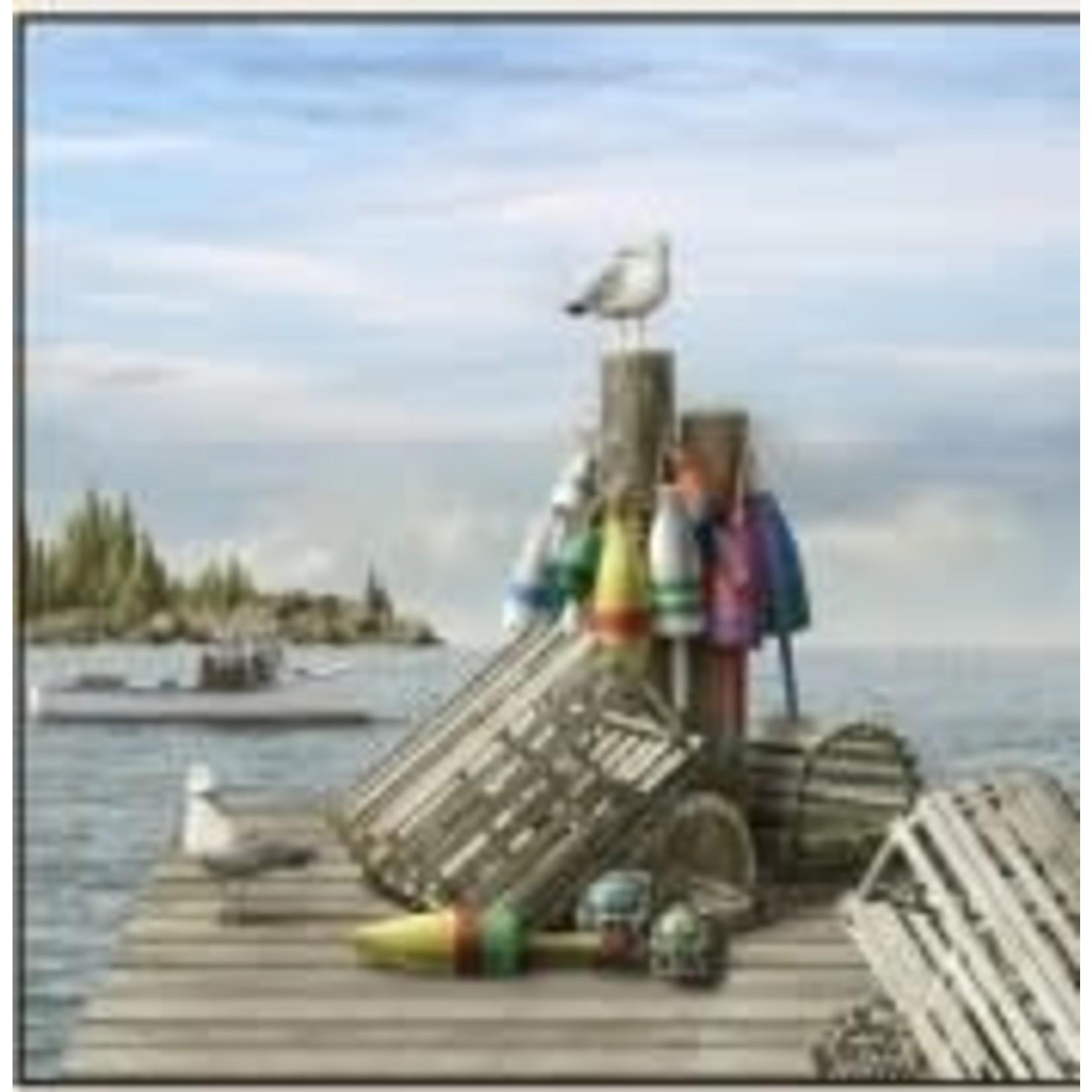 Elizabeth's Studio Coastal Dreams - 7 Boeien - Panel