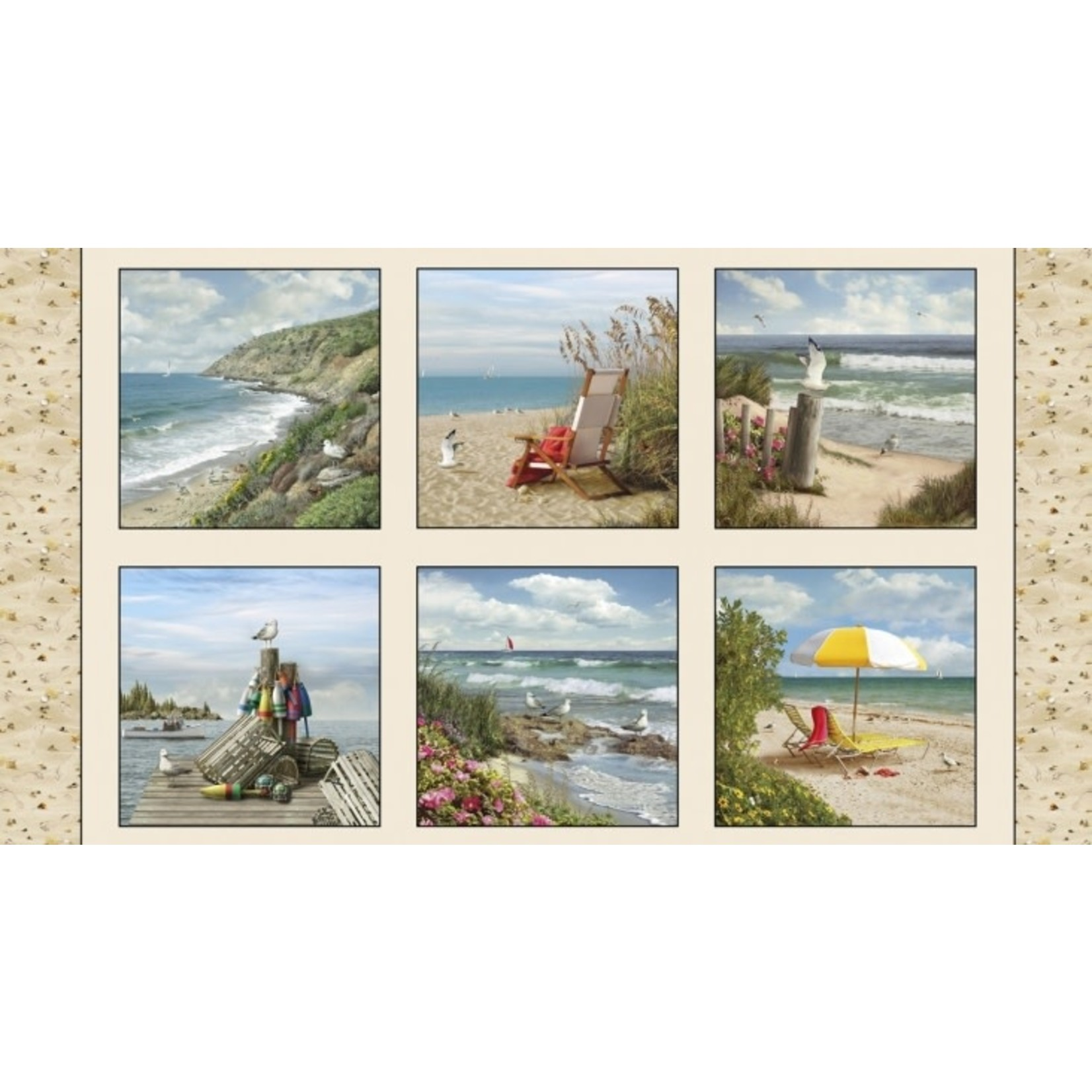 Elizabeth's Studio Coastal Dreams - Sand - Panel