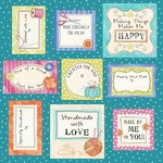 Stof Fabrics Handmade With Love Labels - Panel
