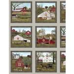 Elizabeth's Studio Headin' home - Sepia - Panel