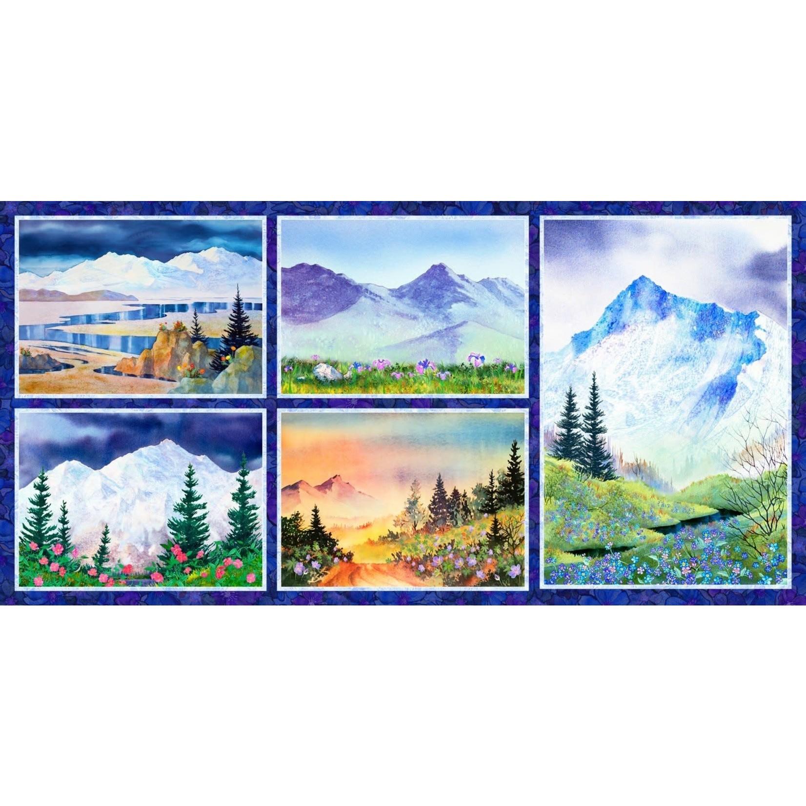 P&B Textiles Majestic Mountains - Panel