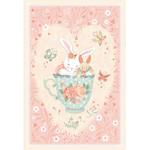 Studio E Fabrics Woodland Tea Time - Bunny in Teacup - Panel