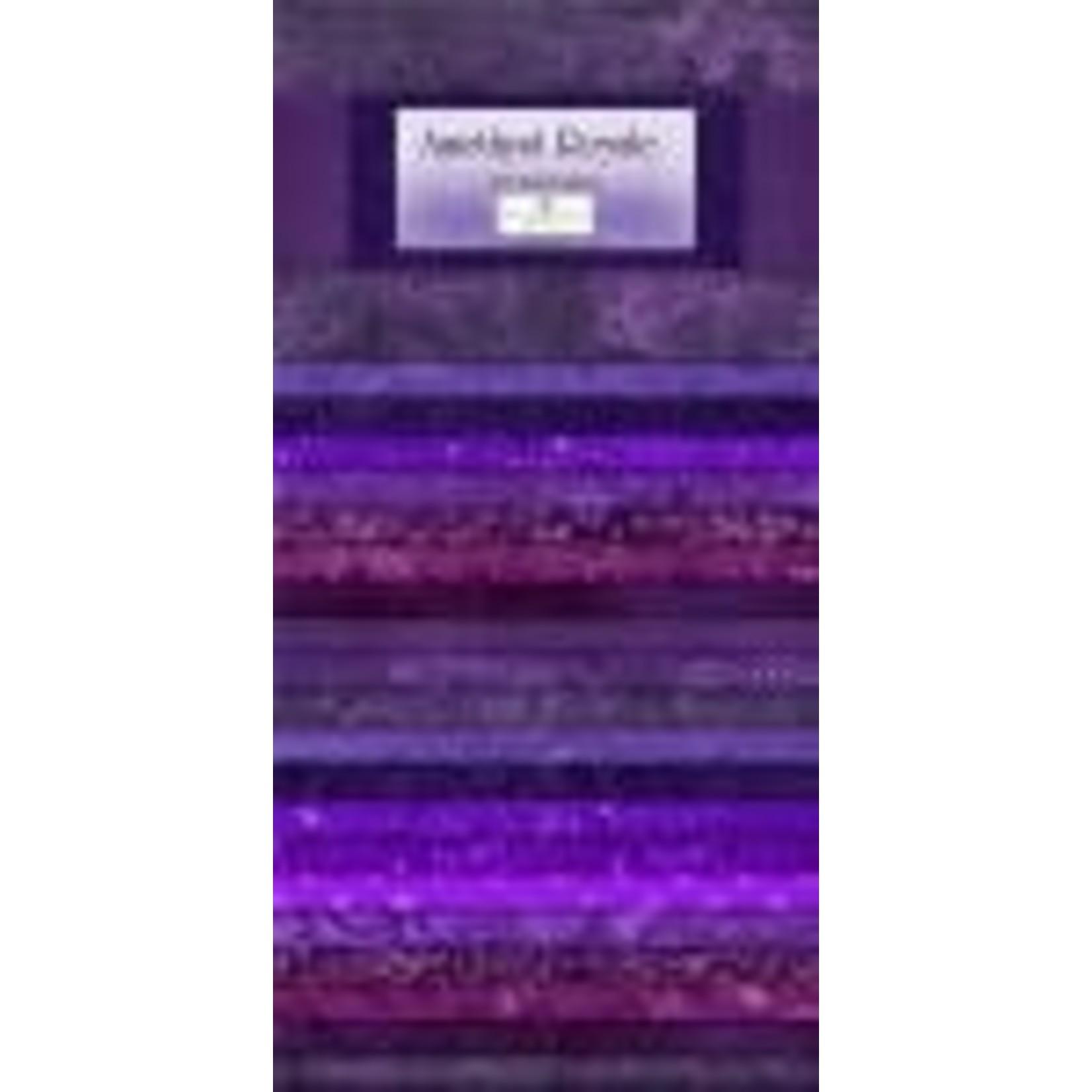 Wilmington Prints Essentials - Amethyst Royale - Jelly Roll - 40 Stroken