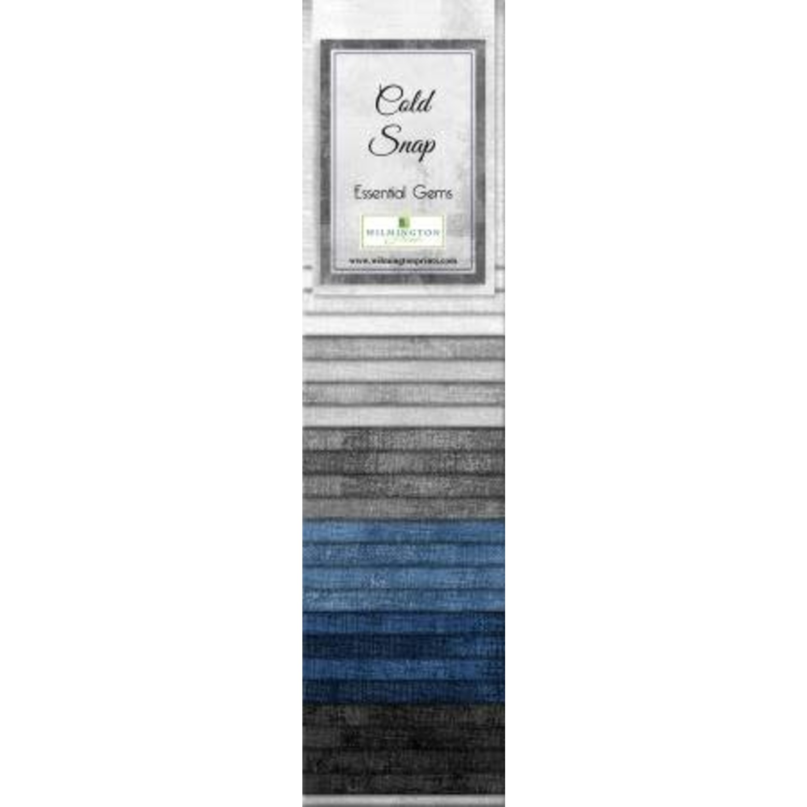 Wilmington Prints Essentials - Cold Snaps - Jelly Roll - 24 Stroken