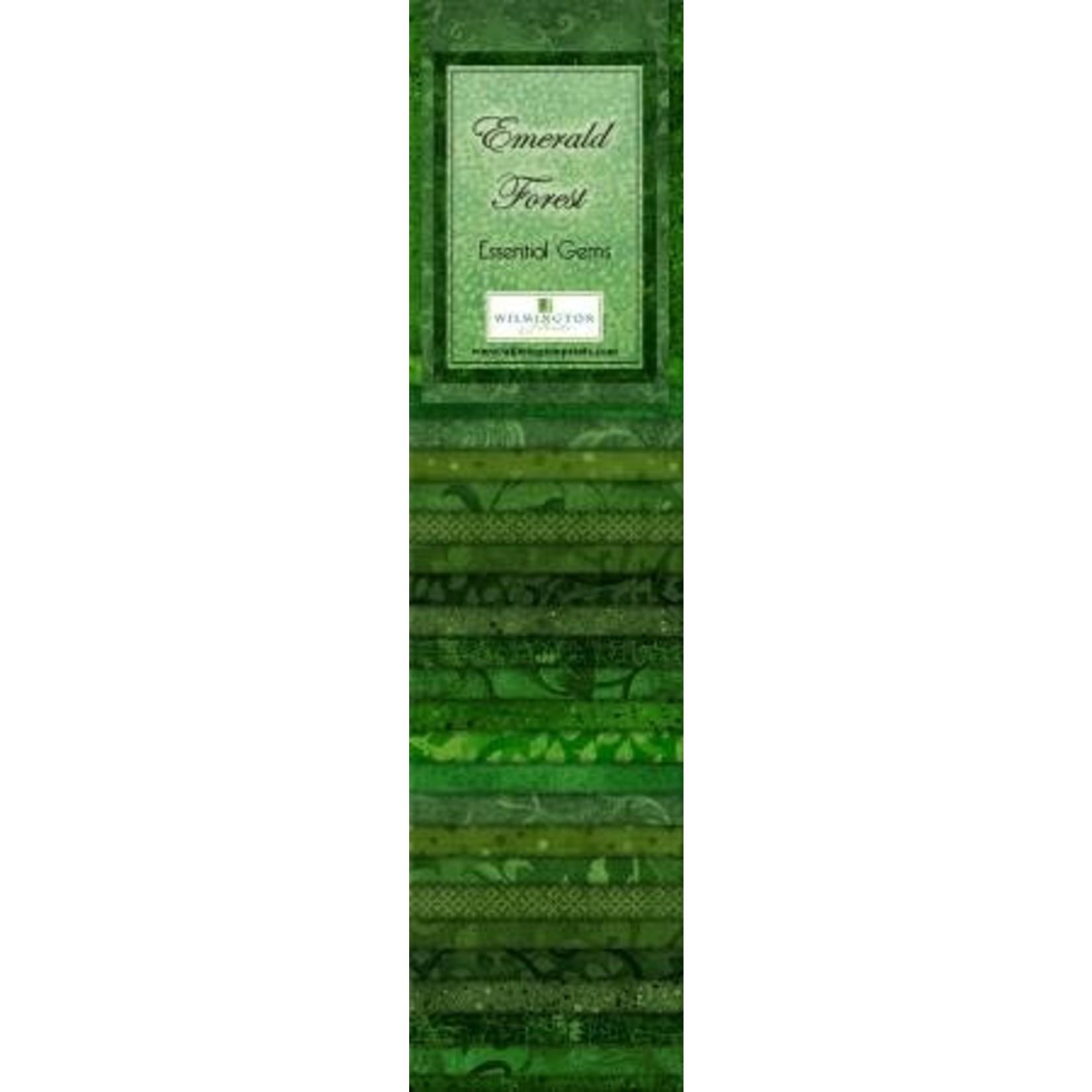 Wilmington Prints Essentials - Emerald Forest - Jelly Roll - 24 Stroken