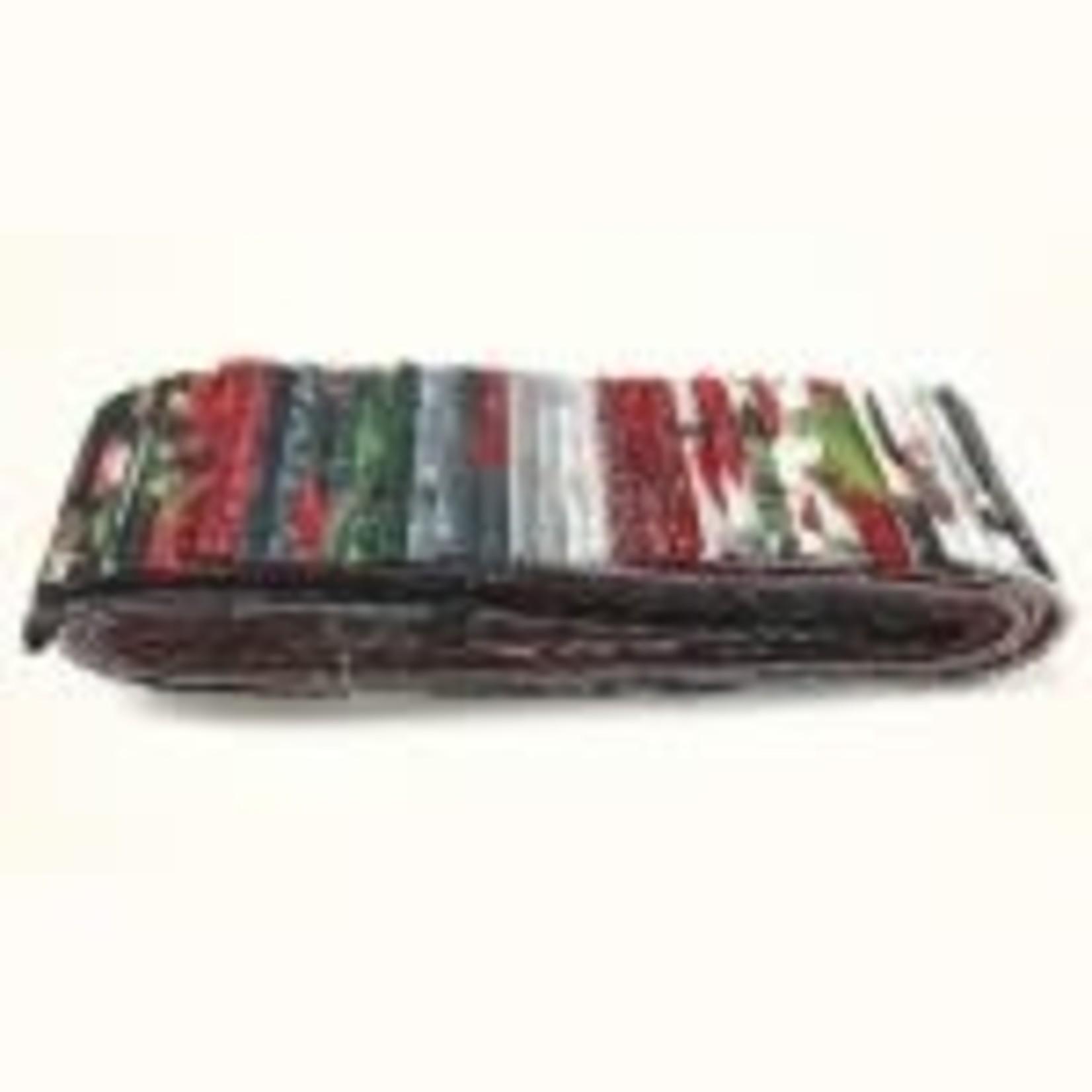 Hoffman Fabrics Jingle Silver - Jelly Roll - 40 Stroken