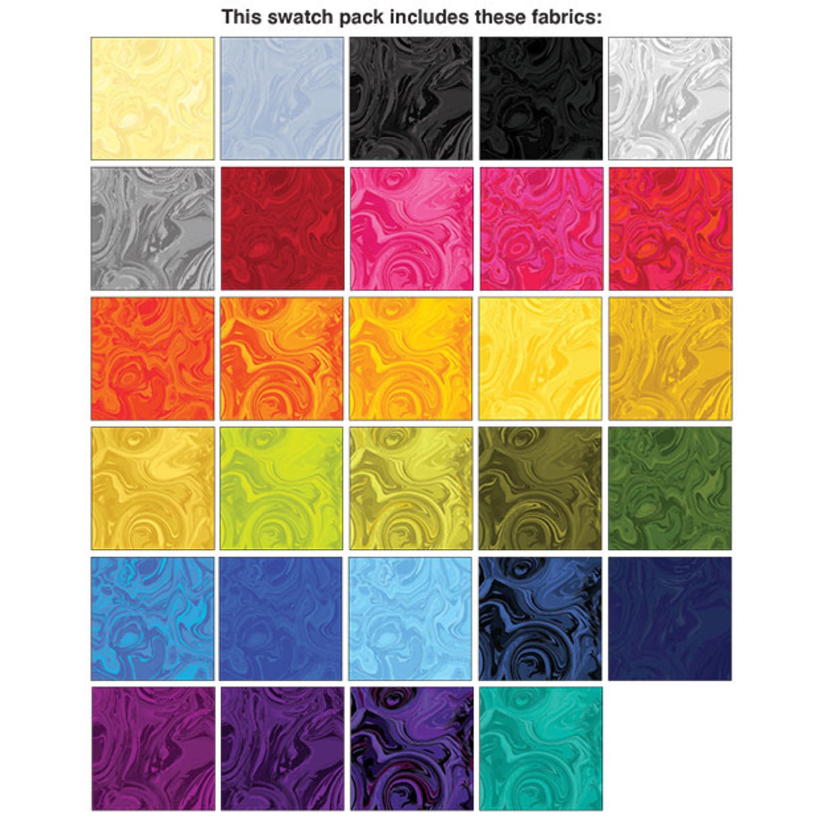 Benartex Studio Marbella - Jelly Roll - 40 Stroken