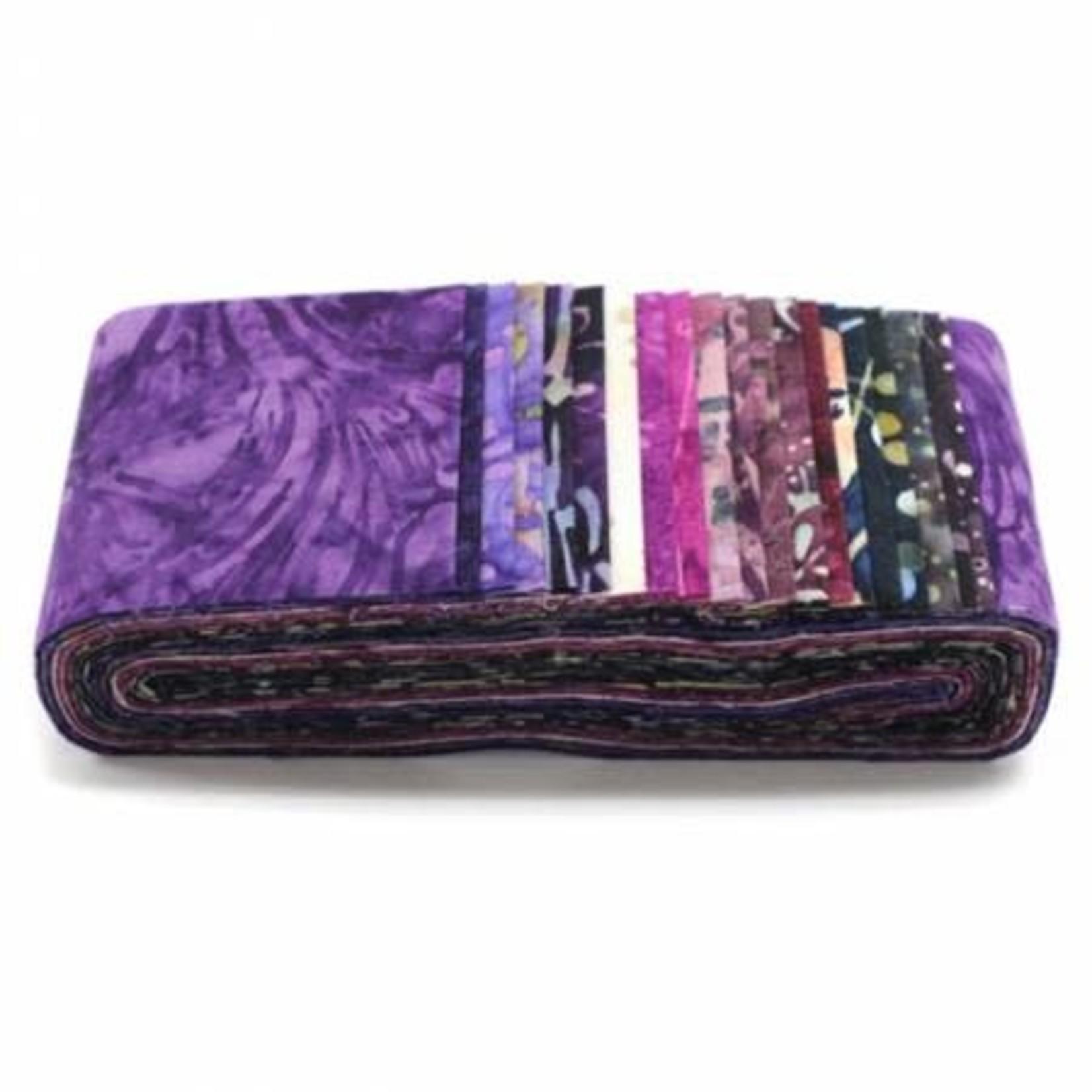 Hoffman Fabrics Napa - Jelly Roll - 20 Stroken