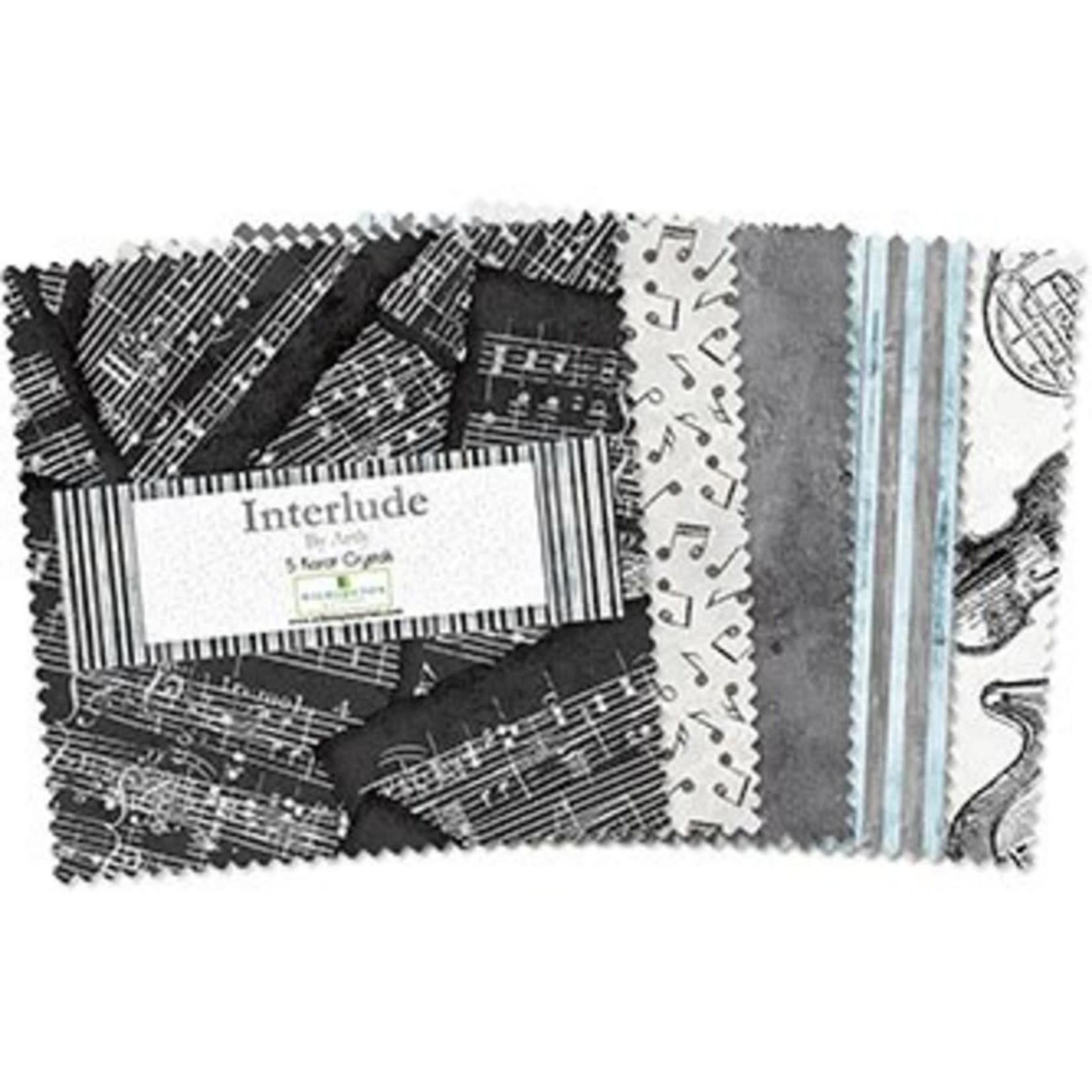 Wilmington Prints Interlude - Layer Cake - 42 Vierkanten