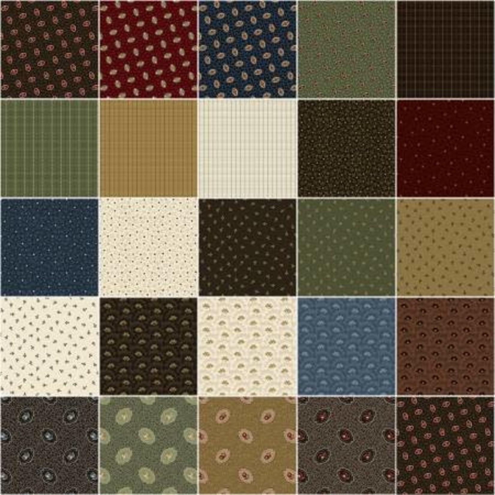 Windham Fabrics General Store - Jelly Roll - 40 Stroken