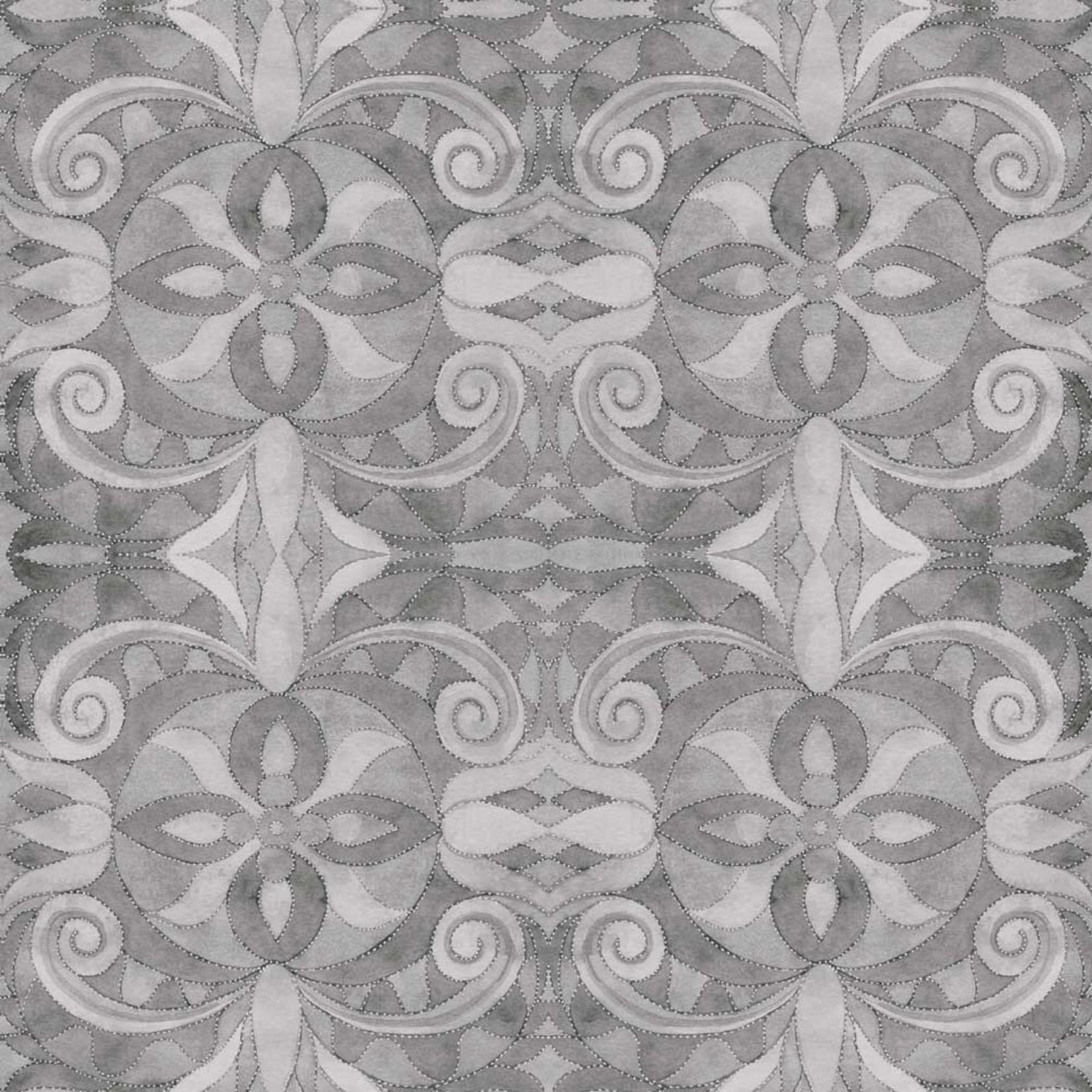 Blank Quilting Baroque - Grijs