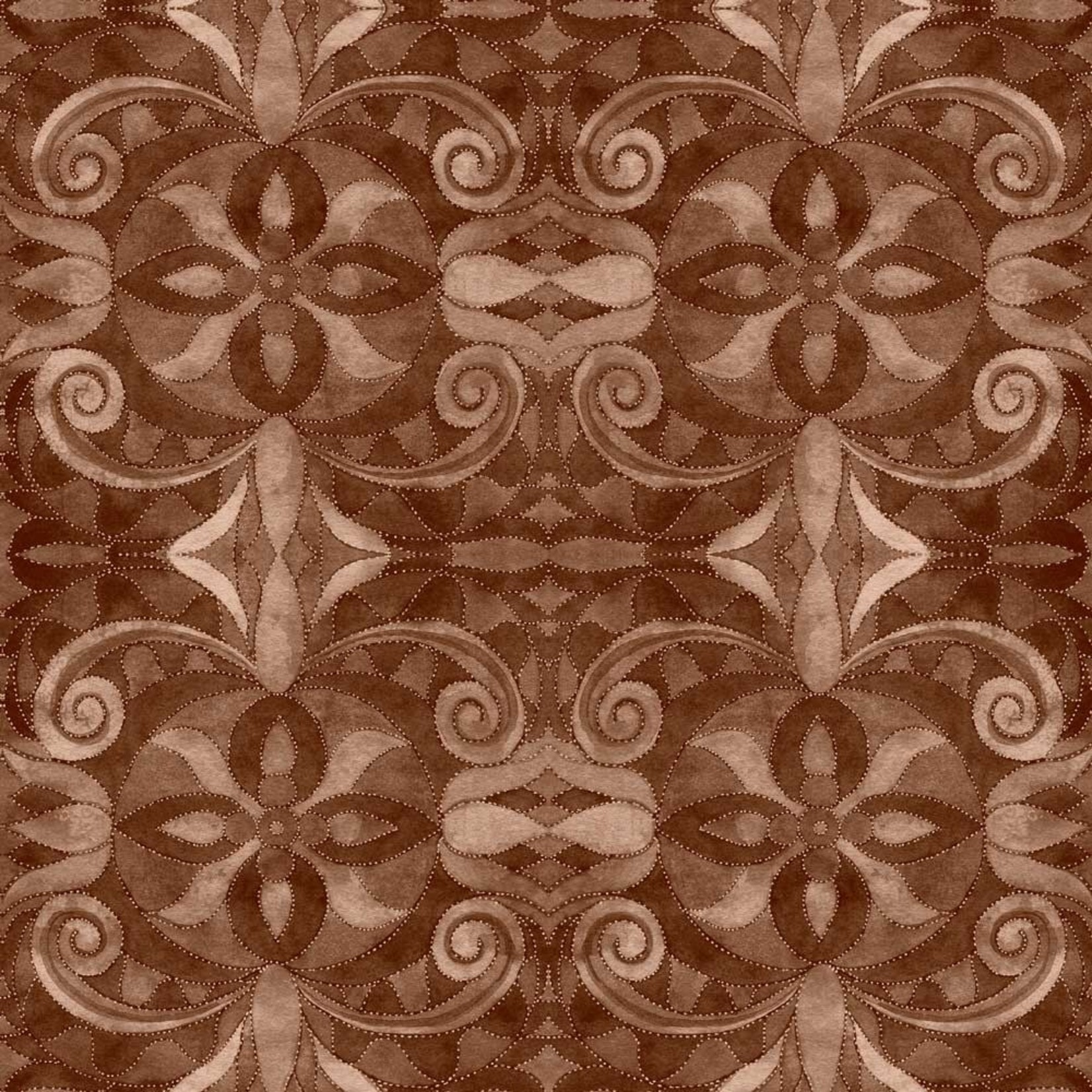 Blank Quilting Baroque - Bruin