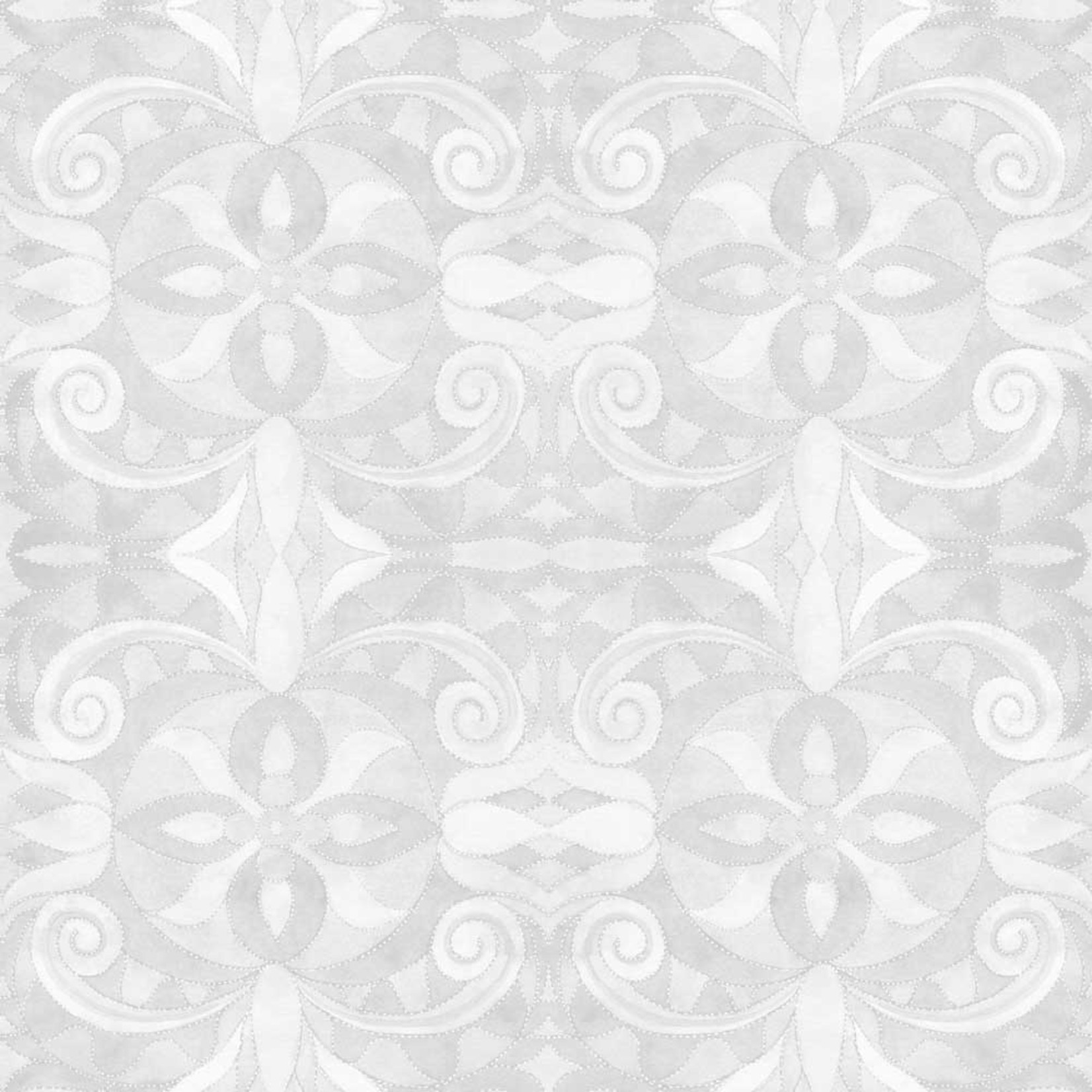 Blank Quilting Baroque - Wit