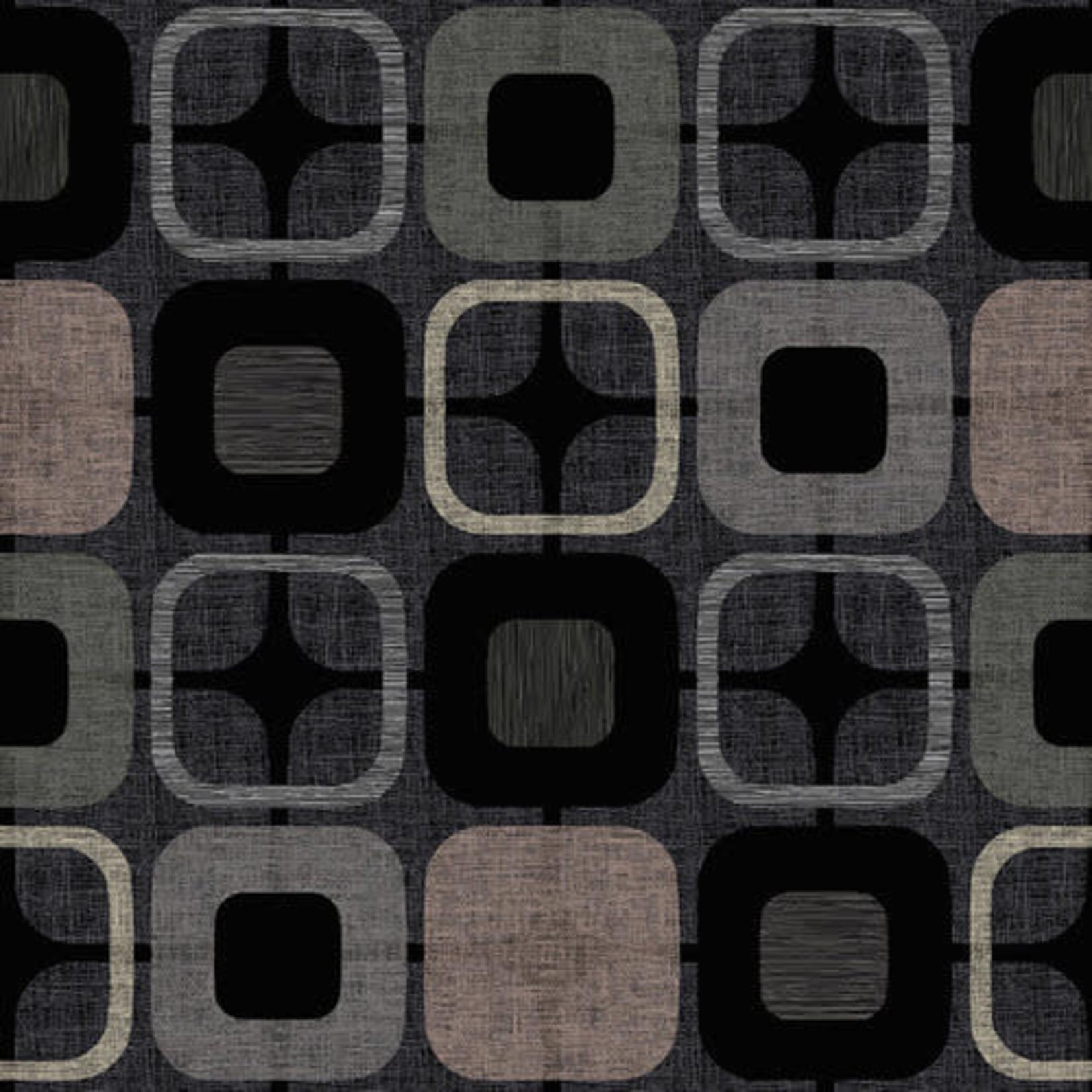 Blank Quilting Geo Square - Black