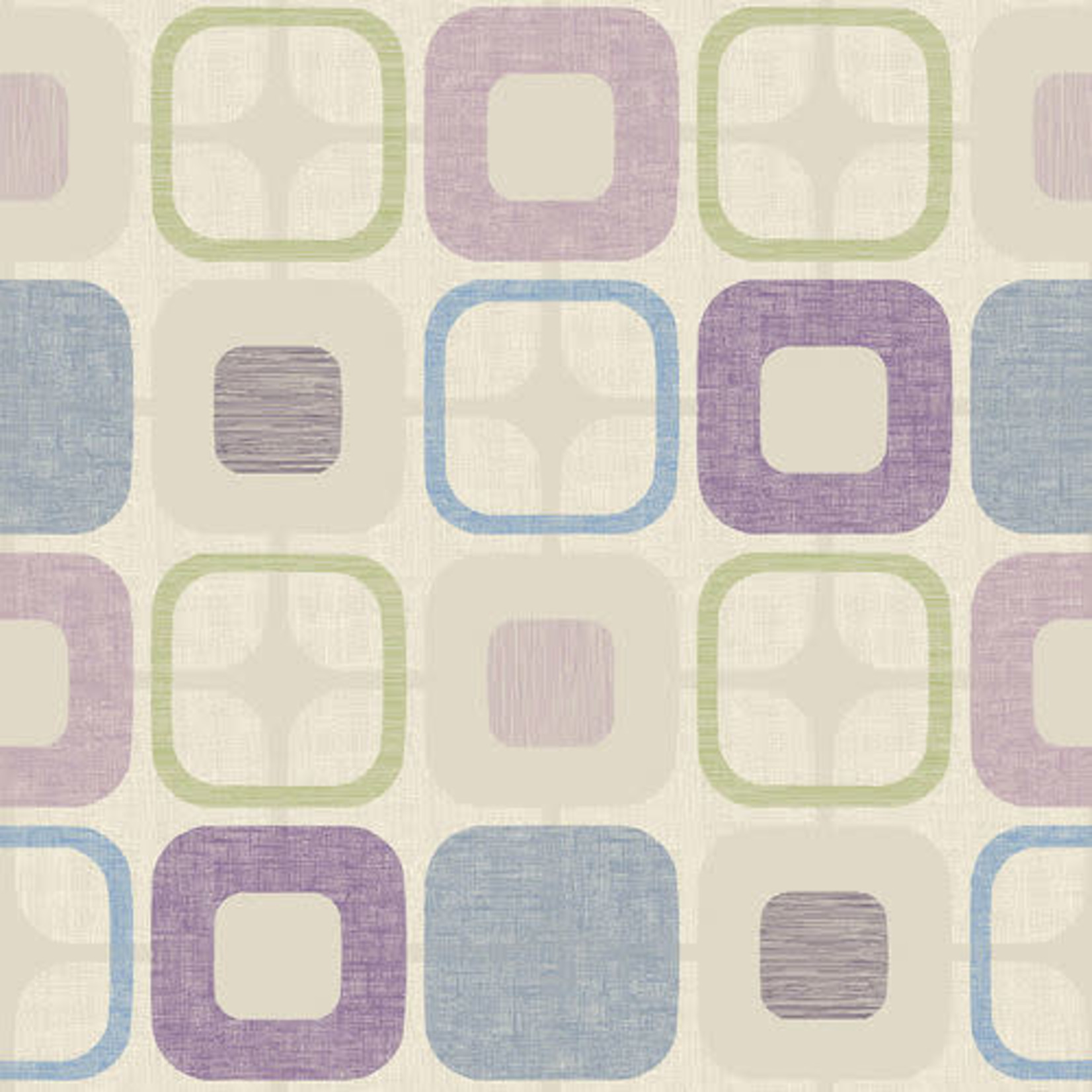 Blank Quilting Geo Square - Lilac