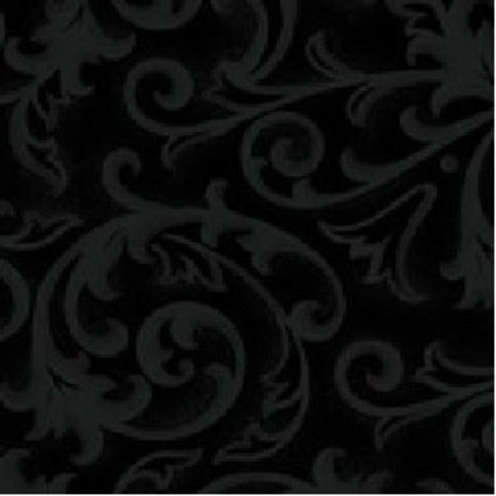 Henry Glass Fabrics Baroque - Black