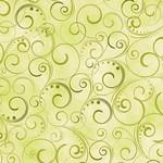 Kanvas Studio Swirling Splendor - Moss Green