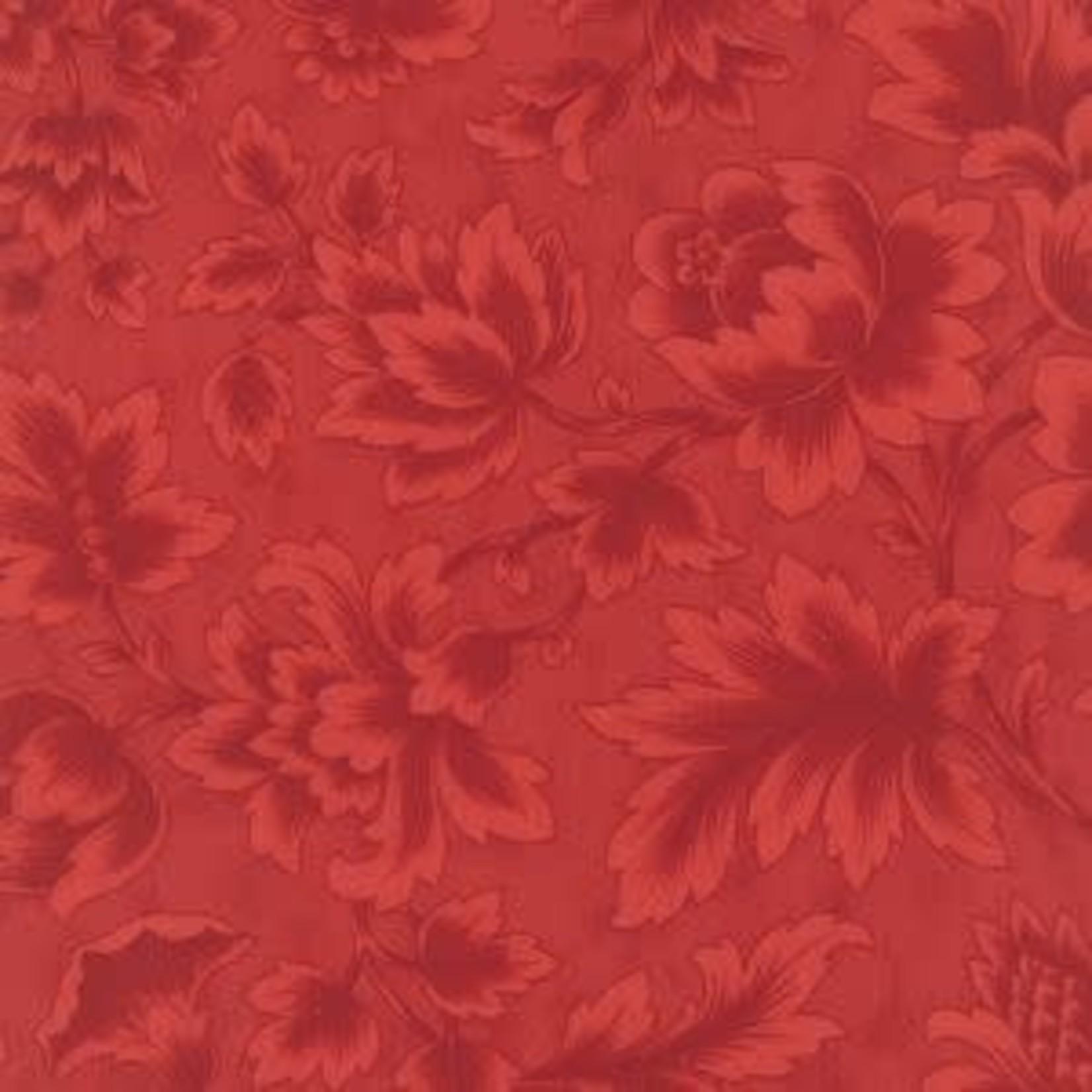 Moda Fabrics 3 Sisters - Midnight Clear - Crimson