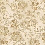 P&B Textiles Washington Street - Garden - Cream/Tan