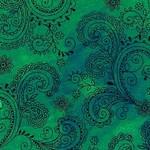 QT Fabrics Avalon - Groen